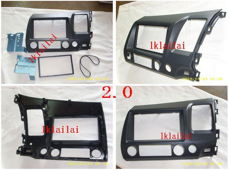 Honda Civic FD '06-09 2.0 Double Din Casing/Dashboard Panel Casing