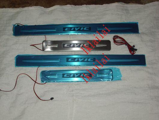 HONDA CIVIC FD '06 Side Sill Plate LED