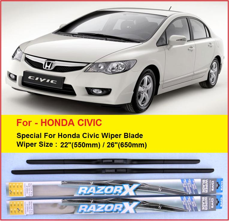 Honda Civic Rubber Wiper Blade (Sp (end 11/19/2018 10:23 PM)