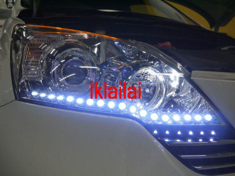 Honda CRV '07-11 LED DRL R8 - Modify-in To Your Head Lamp