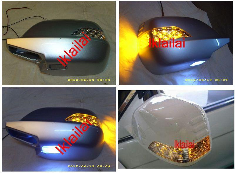 Honda CRV '07 Side Mirror Cover LED + Foot Lamp
