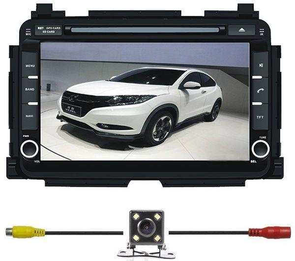 HONDA HRV VEZEL XRV DLAA 8' Full HD Double Din GPS DVD MP3 TV Player
