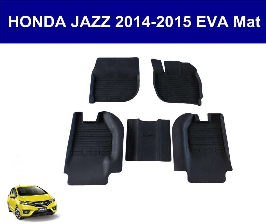 Honda Jazz 2014-2017 EVA Rubber Car Mat (Complete Set)
