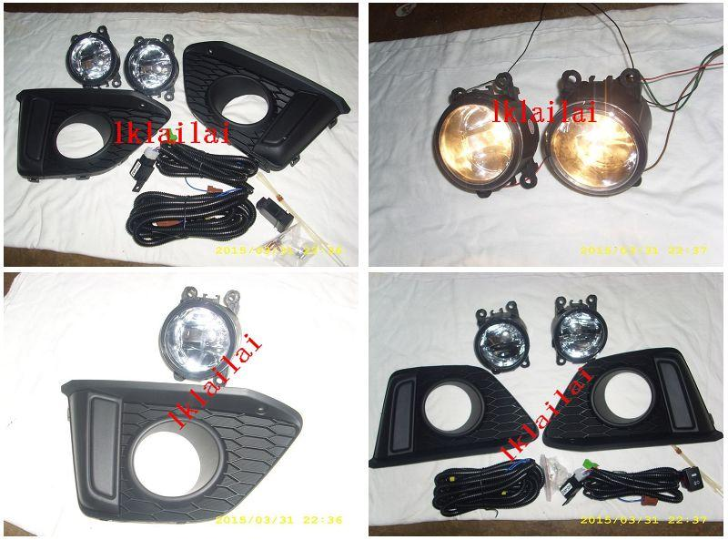 Honda Jazz 2014 Fog Lamp Crystal with Wiring & Switch