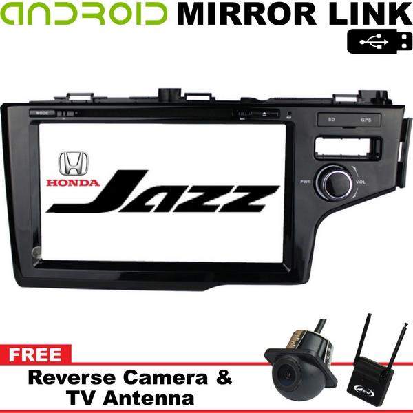 HONDA JAZZ/ FIT GK 2014-17 9' DLAA GPS DVD VCD MP3 USB SD BT TV Player