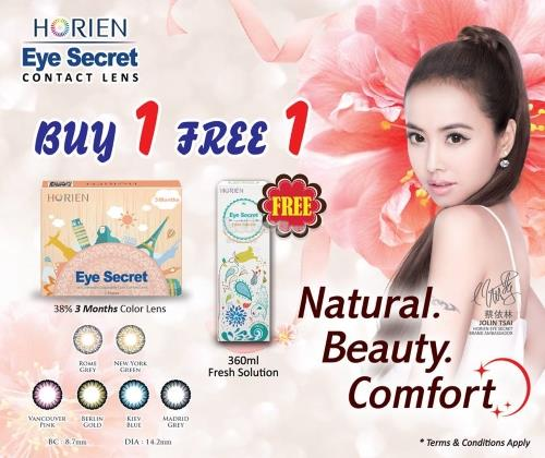 Horien Eye Secret 3 Months Color Lenses