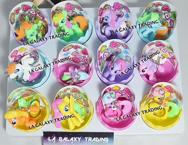 My Little Horse Pony Mini Figure Keychain In Egg
