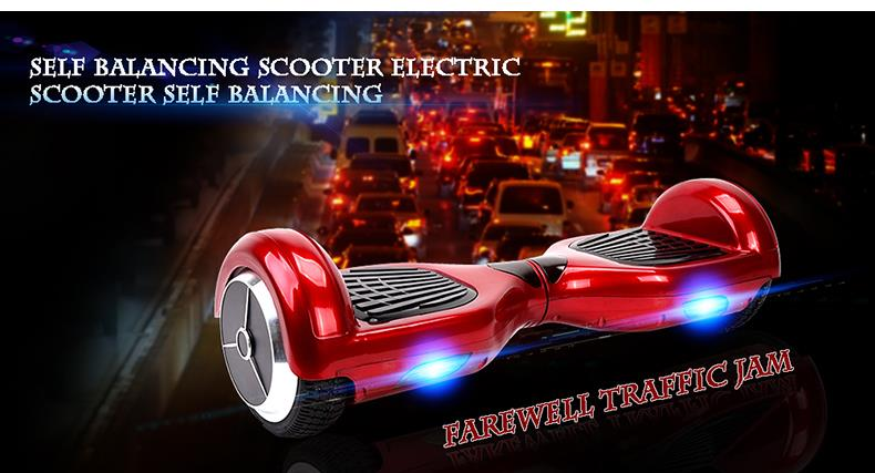 Hot Scooter Self Balancing Two Wheel Drifting Electric Skateboard