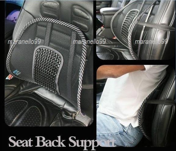 Hot Selling: Mesh Back Support with Lumbar Reflexology Massage Points