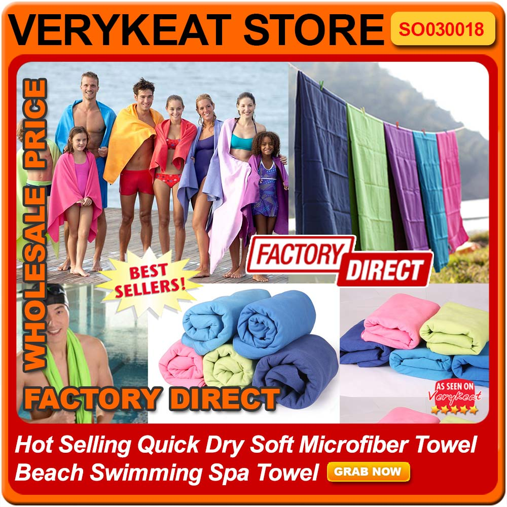 Hot Selling Quick Dry Soft Microfiber Towel Beach Swimming Spa Towel