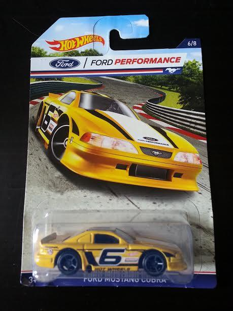 Hot Wheels Diecast - Ford Performance - Ford Mustang Cobra NEW