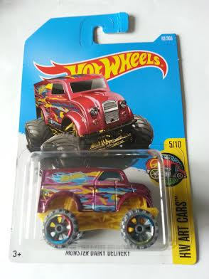 Hot Wheels Diecast - Monster Dairy Delivery NEW