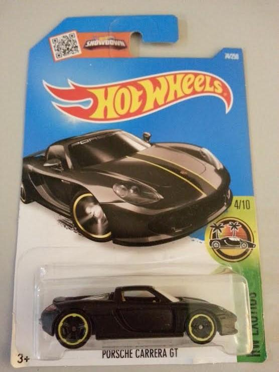 Hot Wheels Diecast - Porsche Carrera (Black) NEW