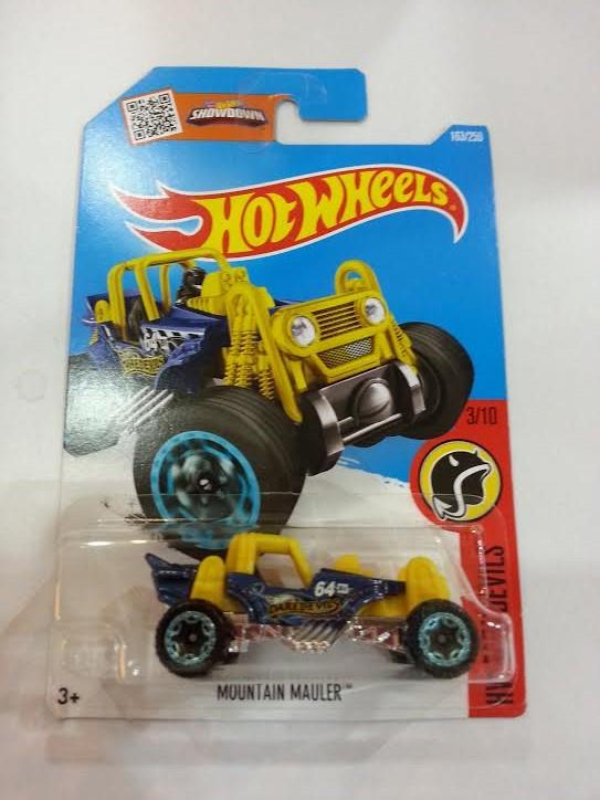 Hot Wheels Diecast - Tressure Hunt TH Car Mountain Mauler NEW