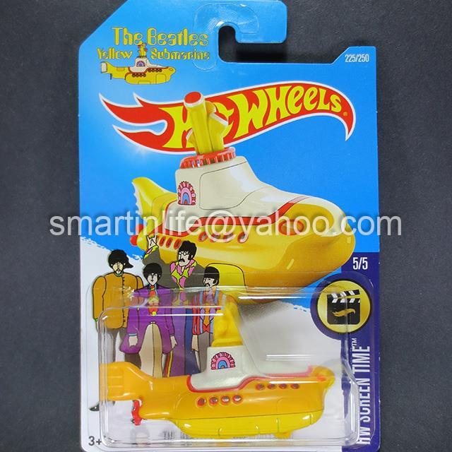 Hot Wheels HW THE BEATLES YELLOW SUBMARINE (Yellow) #5