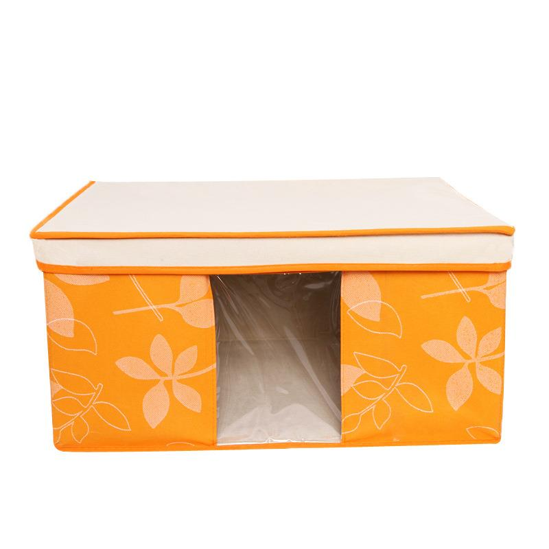 New Hot~Non-woven Leaf Type Storage Box (M)