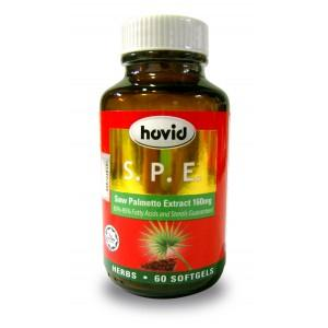 HOVID SPE SAW PALMETTO EXTRACT TRADITIONALLY USED TO IMPROVE URINATION
