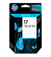 HP 17 Color Inkjet Cartridge(Genuine) C6625A DJ810 812 825 840 843
