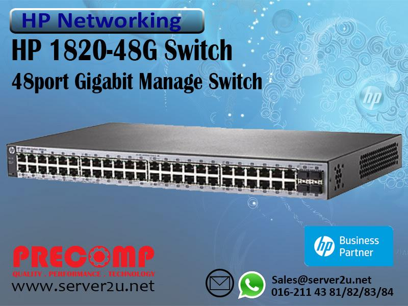 HP 1820-48G Switch (J9981A)