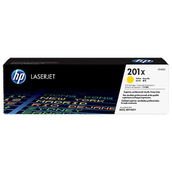 HP 201X Yellow Original LaserJet Toner Cartridge (CF402X)
