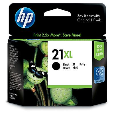 HP 21XL BLACK Ink Cartridge, C9351CA