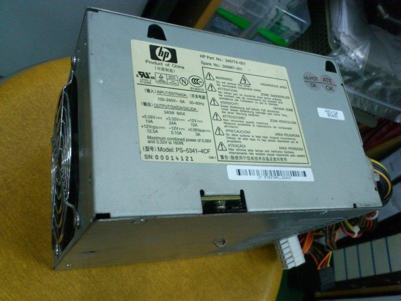 HP 349774-001 Spare No 349987-001 Power Supply 021113