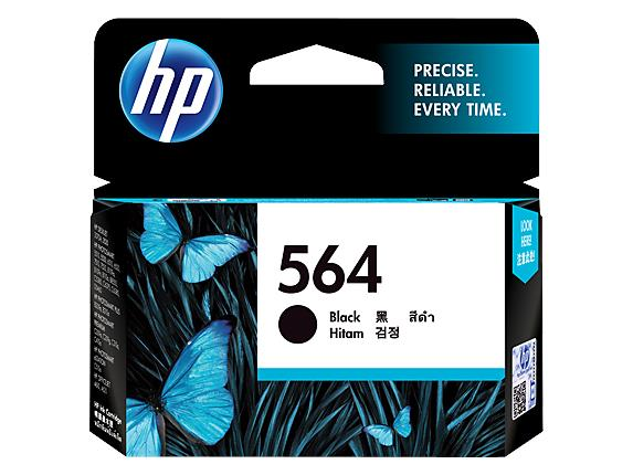 HP 564 Black Original Ink Cartridge(CB316WA)