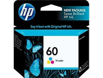 HP 60 COLOUR Ink Cartridge (Genuine) CC643WA HP60 D2560 D2660