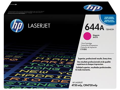 HP 644A Magenta Original LaserJet Toner Cartridge (Q6463A)