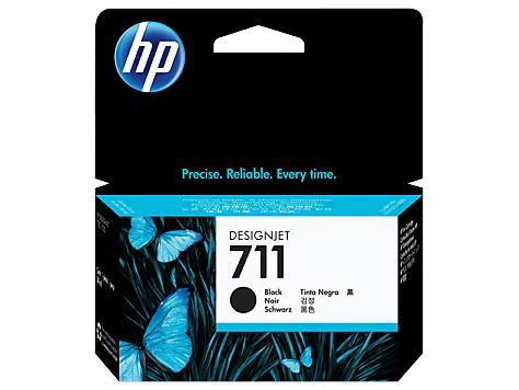 HP 711 38-ml Black DesignJet Ink Cartridge (CZ129A)