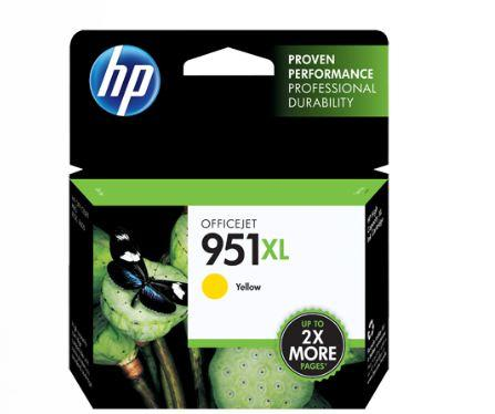 HP 951XL High Yield Yellow Original Ink Cartridge Genuine