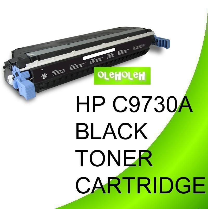 HP C9730A (645A) Compatible Black Toner For HP Color LaserJet 5550