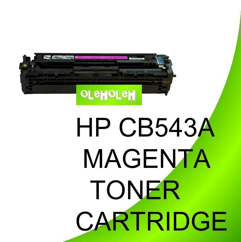 HP CB543A (125A) Compatible Magenta Toner Cartridge 1215 1210 1312