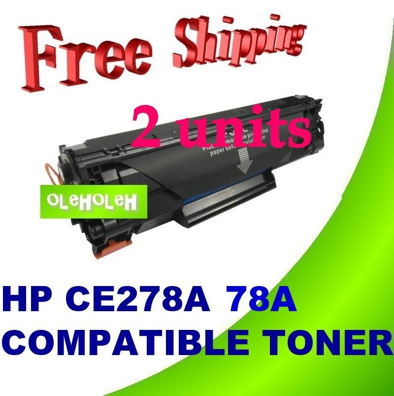 HP CE278A 78A Compatible Toner Cartridge P1530 P1536 P1600 P1606
