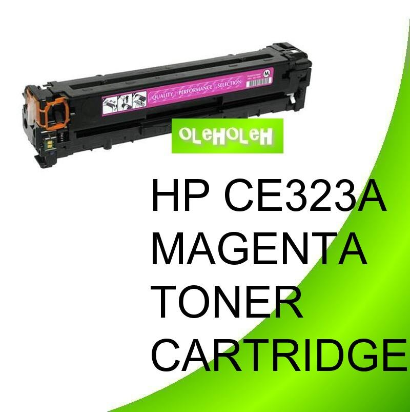 HP CE323A (128A) Compatible Magenta Toner For HP CM1415 CM1525n