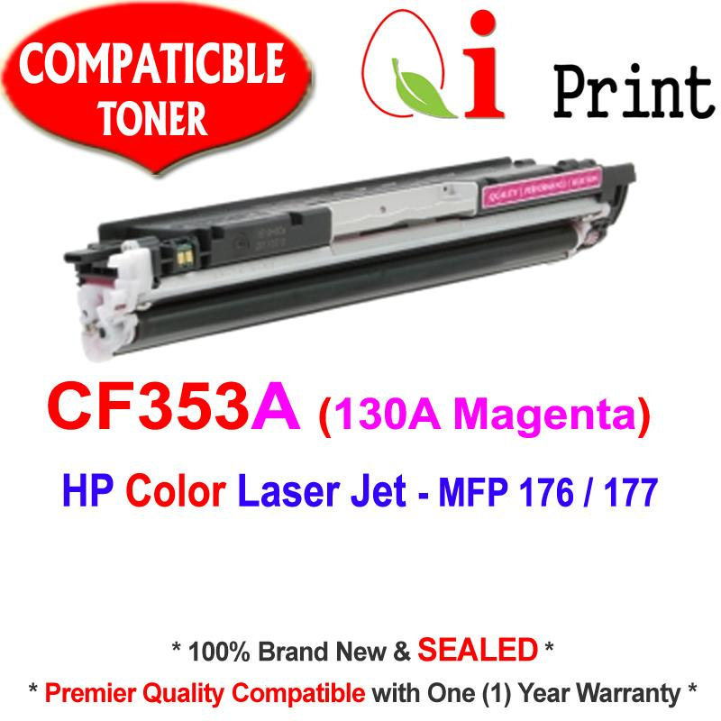 HP CF353A #130A MAGENTA Toner Compatible * Brand NEW Sealed *