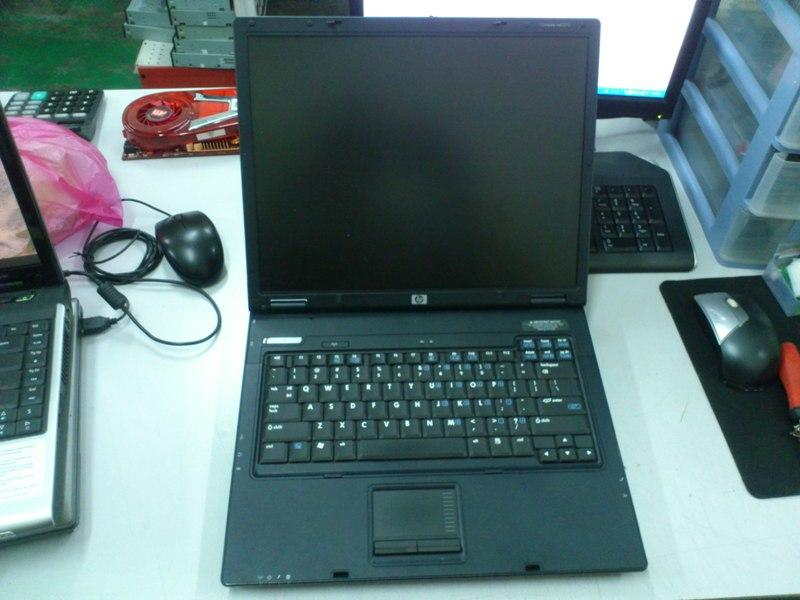 HP Compaq nx6310 Intel T5500 C2D Notebook 070613