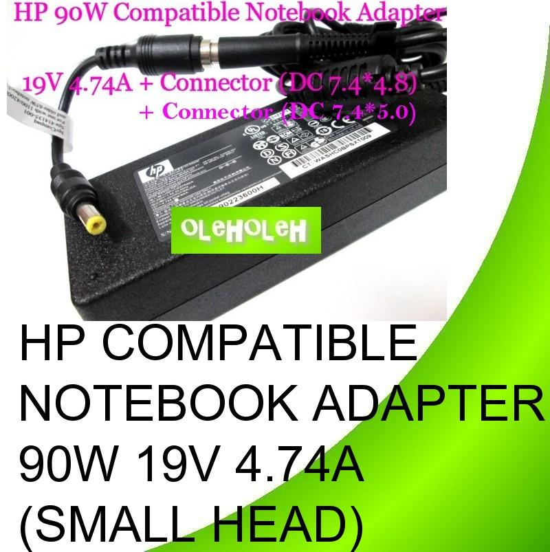HP Compatible Notebook Adapter 90W 19V 4.74A (Small Head)