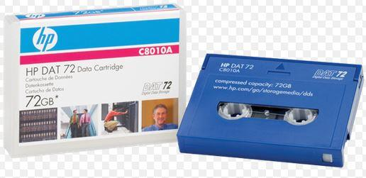HP DDS-5 DAT72 Data Tape - C8010A ,Genuine