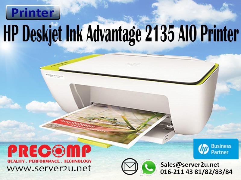 HP Deskjet Ink Advantage 2135 AIO Printer (F5S29B)