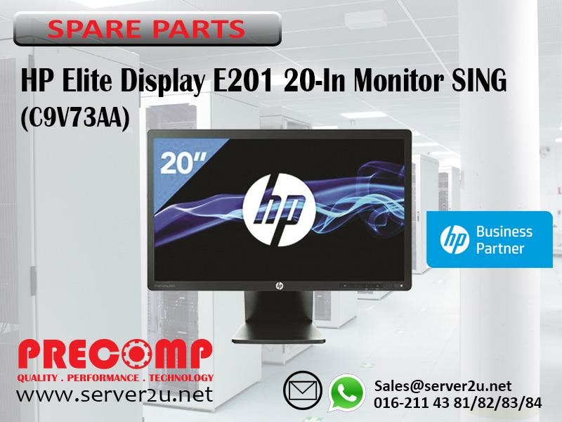 HP Elite Display E201 20-In Monitor SING (C9V73AA)