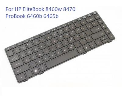HP EliteBook 8410p 8460w 8470 ProBook 6460b 6465b Keyboard