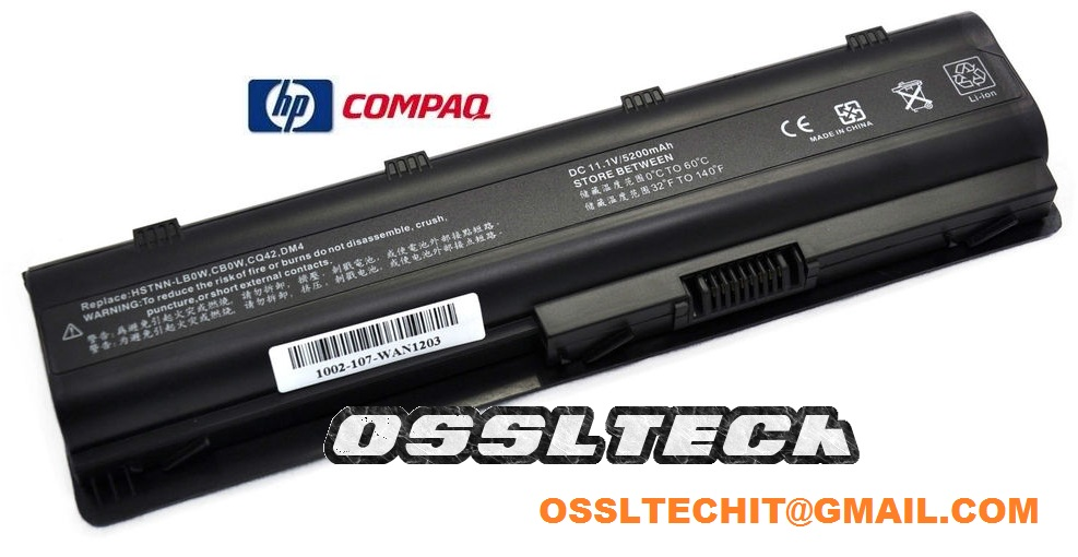 HP G62T G72T G42T G62 G62M-300 G72-100 586006-361 Laptop Battery