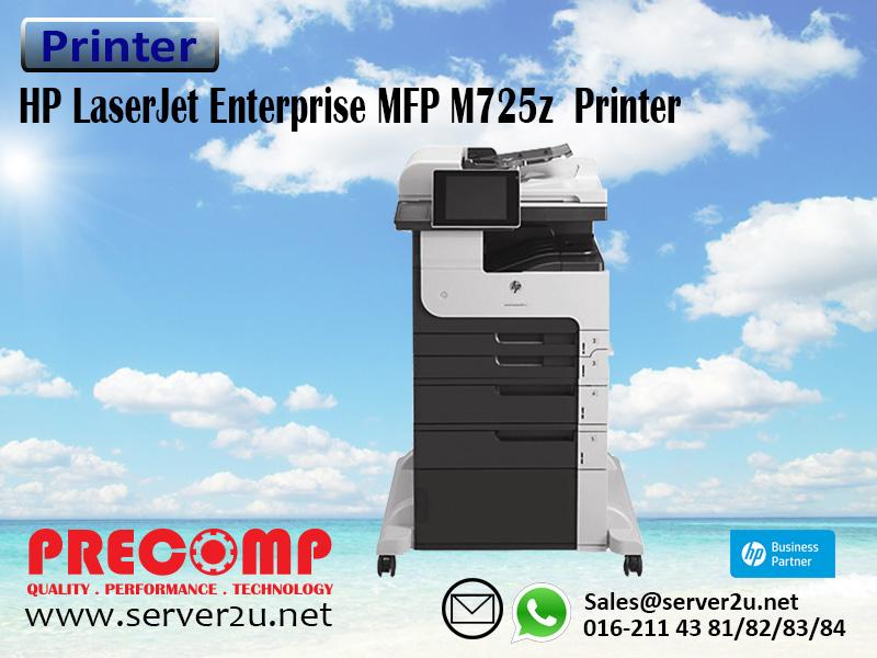 HP LaserJet Enterprise MFP M725z  Printer (CF068A)