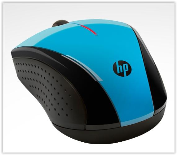 HP MINI WIRELESS MOUSE X3000 (BLUE)