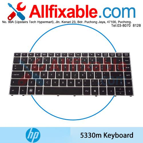 HP Probook 5330 5330M Series 650377-001 653171-001 Keyboard