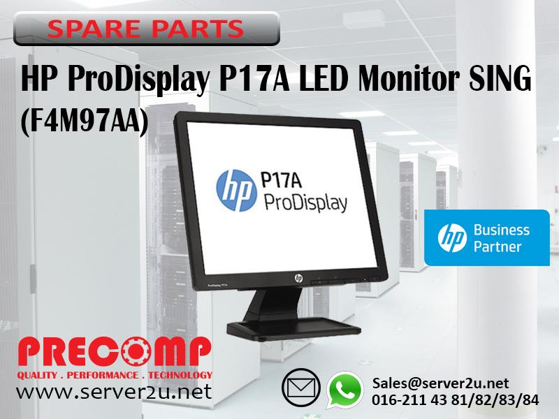 HP ProDisplay P17A LED Monitor SING (F4M97AA)