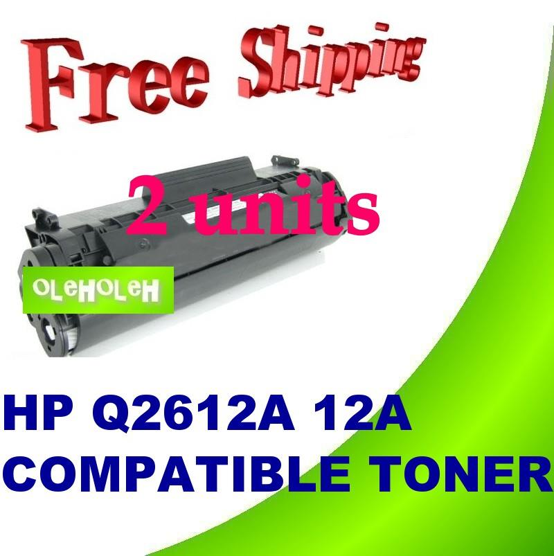 HP Q2612A 12A Compatible Toner 1010 1012 1015 1018 1020 1022 1319