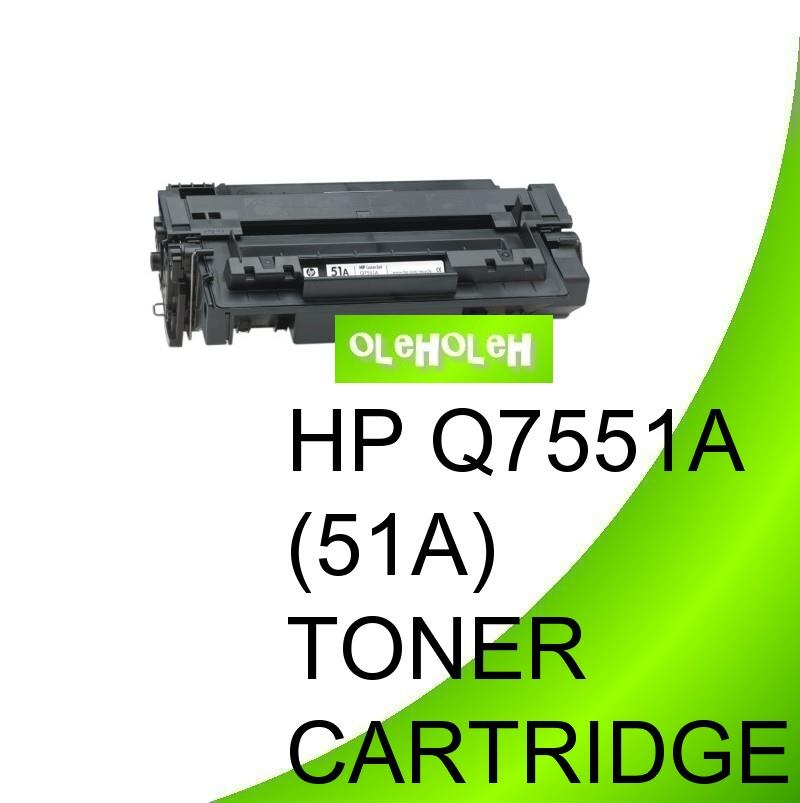 HP Q7551A (51A) Compatible Toner Cartridge For MFP Series