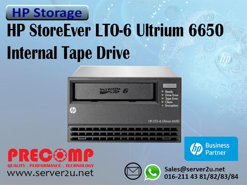 HP StoreEver LTO-6 Ultrium 6650 Internal Tape Drive (EH963A)